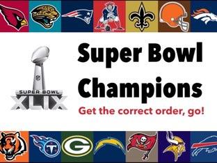 3 Decades Of NFL Super Bowl Champions! by Trivia Blitz
