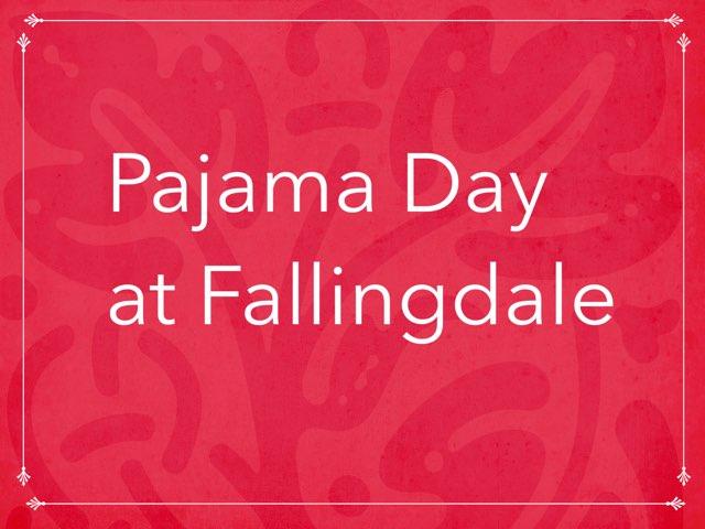 FDK3 Pajama day by Tina zita