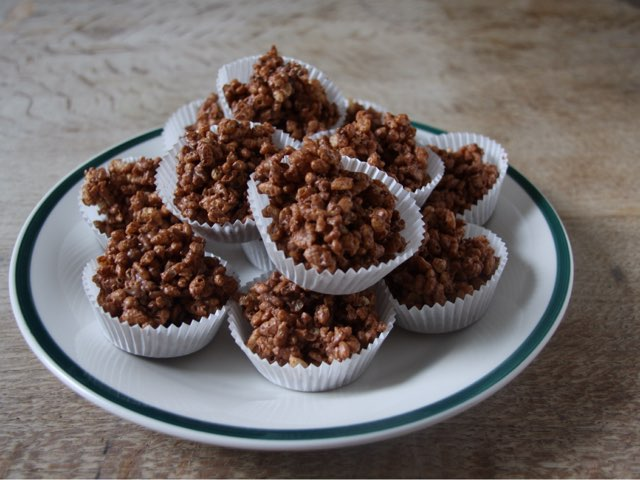 Rice Krispy Cakes  by Amelia Hussain
