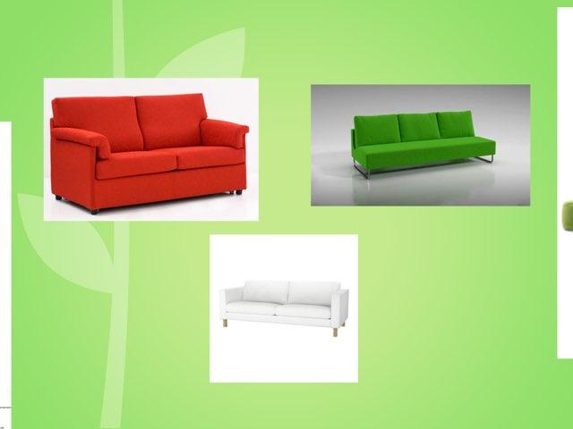 The Sofa Is Green. by Wafaa Ibrahim