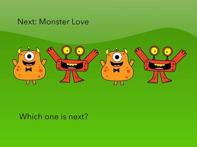 Next: Monster Love by Carol Smith