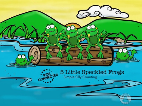 Simple Silly Counting: 5 Speckled Frogs (En UK) by Kids  Connected