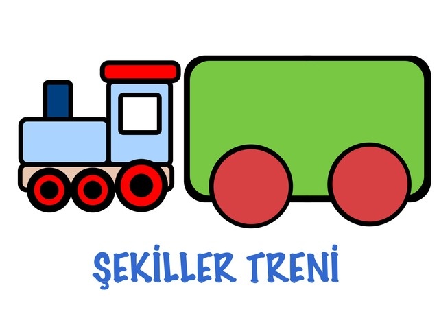 Renkli Şekiller Treni by Hadi  Oyna