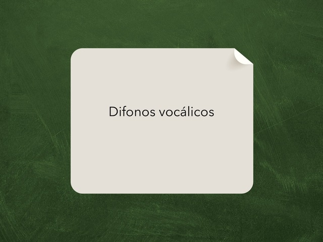 Difonos Vocalicos  by Ahmed Almaliki