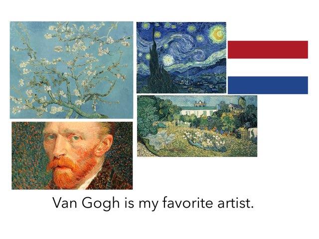 Van Gogh  by Houssam el zein