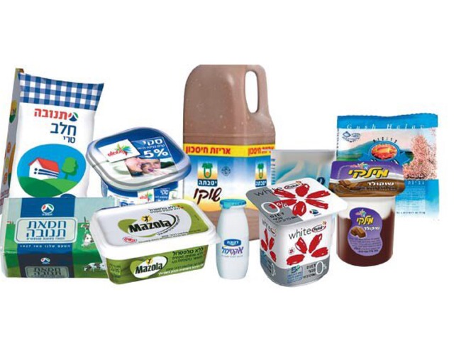 מוצרי חלב by חנה גנדלמן