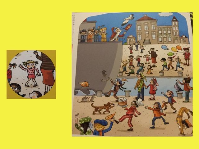 Zoekplaatje Sinterklaas by Elke Laenen