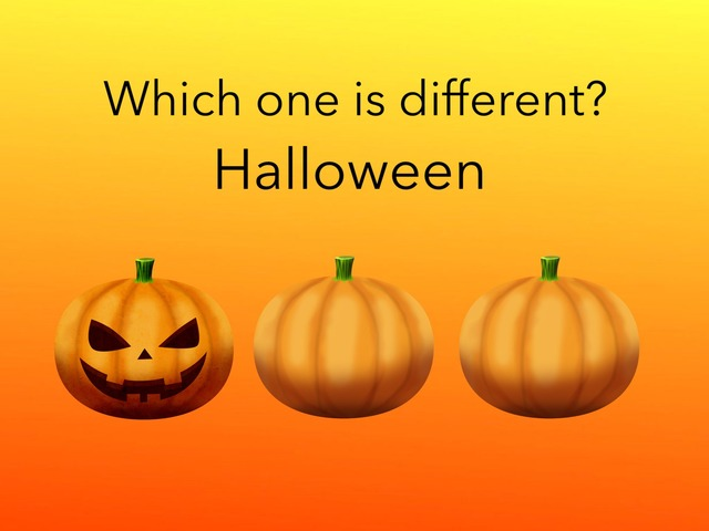 Different: Halloween  by Carol Smith