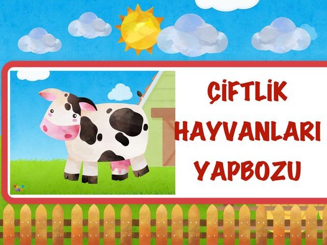 Çiftlik Hayvanları Yapbozu by Hadi  Oyna