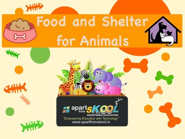 Food And Shelter For Animals by TinyTap creator