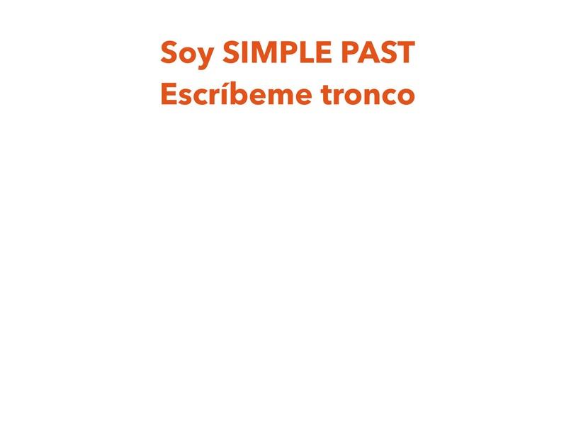SIMPLE PAST de La Primera Hoja(1) by PLASTIBACIER ARTISTCHAB