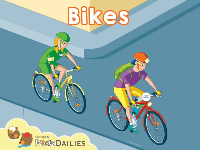 Bikes by Kids Dailies