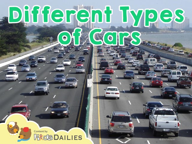 Different Types of Cars by Kids Dailies