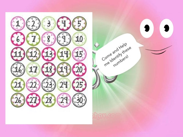 Identifying 10 Numbers From 1-30 by Om Patel