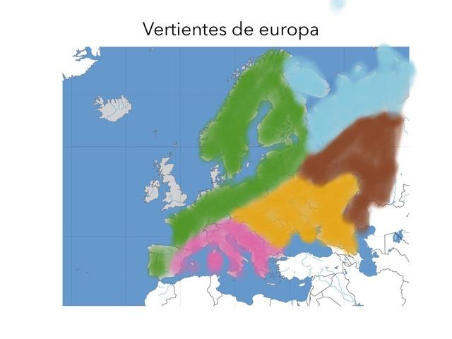 Mapa Vertientes by Aitor Moreno Ortiz