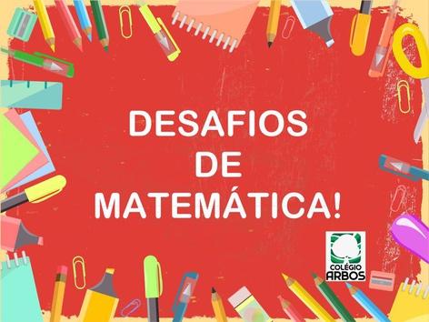 Desafio De Matemática  by Fernanda Fernandes Guedes da Costa