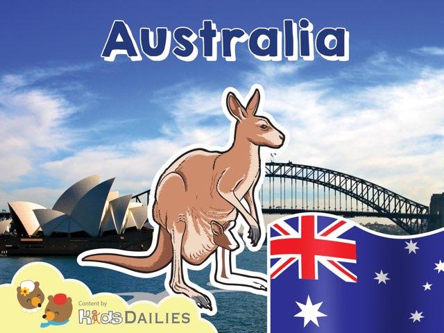 Australia by Kids Dailies