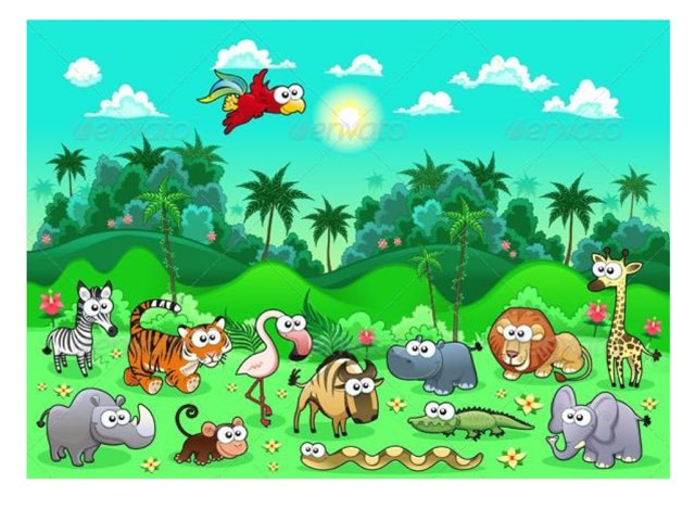 La Jungle by Emilie Woodroffe