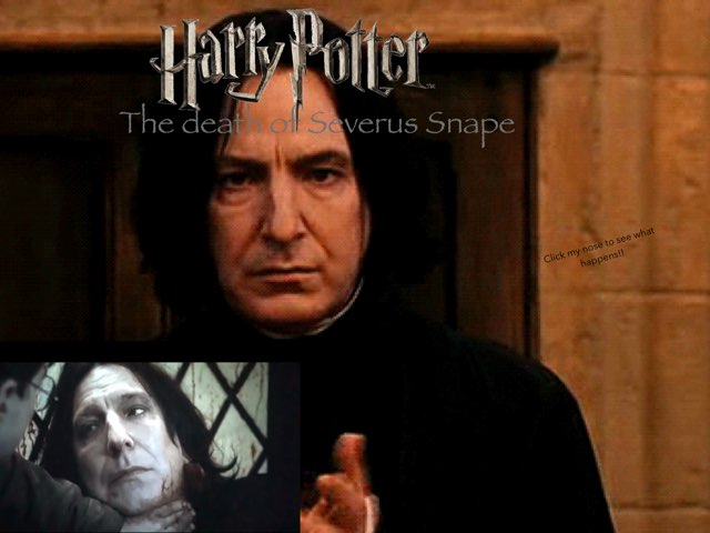 The Death Of Severus Snape!! by Jack Fletcher