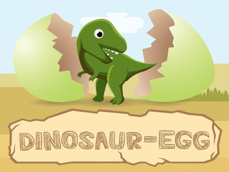 Dinosaur Egg - Surprise & Facts (EN UK) by Tiny Tap