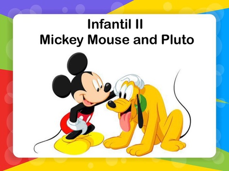 Infantil II - Mickey Mouse And Pluto by Thais Baumgartner