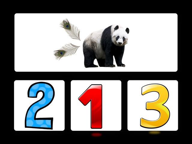 Panda Wil Een Vriendje. Getalbeelden. by jole gielen