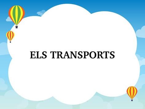 ELS TRANSPORTS  by Mireia Alcalde