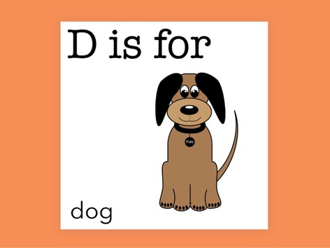 D Is For (Word Book) by Carol Smith