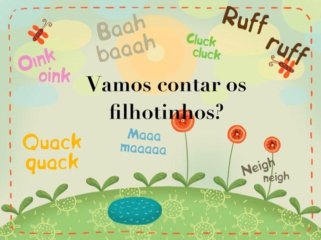 Vamos Contar Os Filhotinhos? by Ana carolina Nascimento