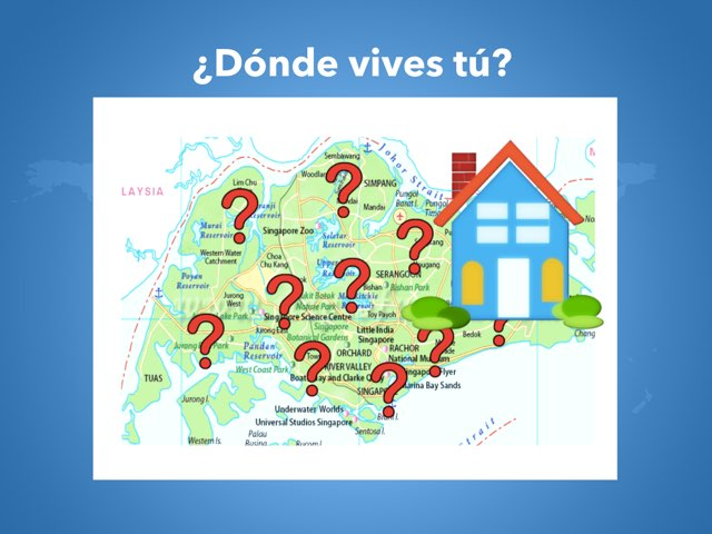 Novice ¿Dónde Vives Tú? by Rodica Harvey
