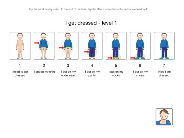 I Get Dressed - Level 1 by My Life Skills Box