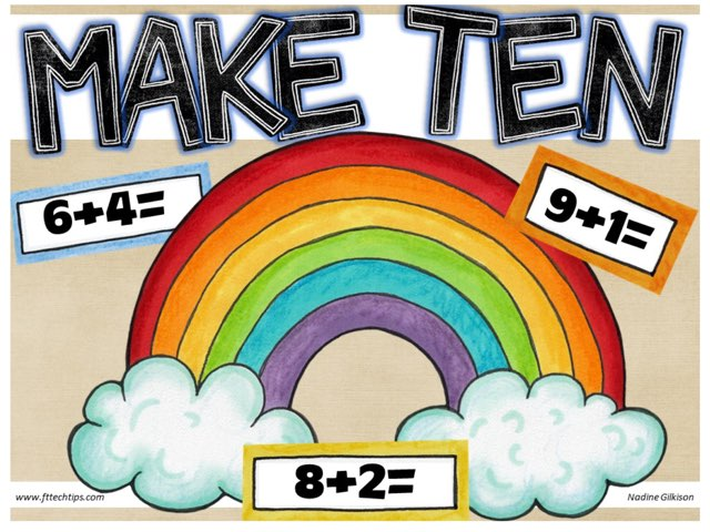 Let's Make Ten! by Nadine Gilkison