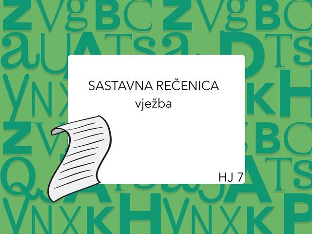 SASTAVNA REČENICA by Sanja Koroman Lavižati