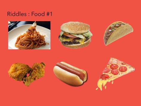 Riddles: Food #1 by Carol Smith