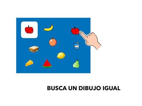 Busca Un Dibujo Igual by Francisca Sánchez Martínez
