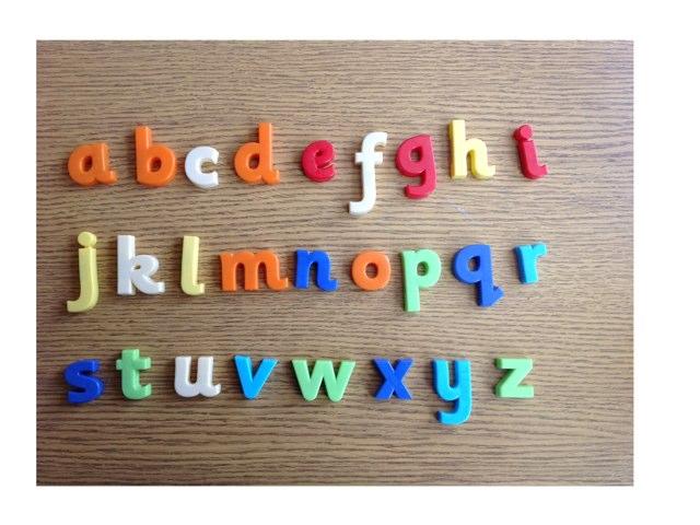 Alphabet sound and spell by Marsha Locke