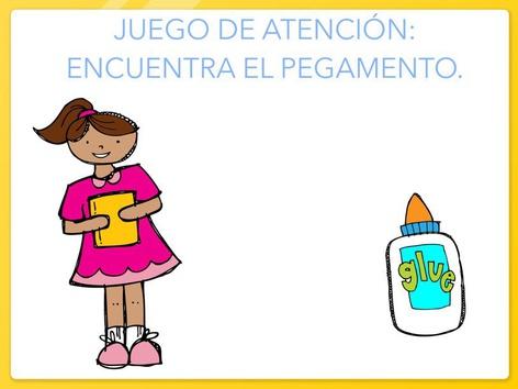 Juego De Atención: Encuentra El Pegamento. by Jose Sanchez Ureña
