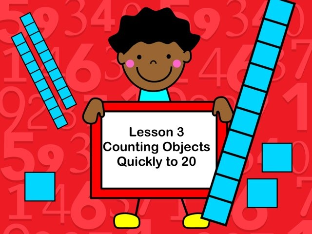 Subitizing - Lesson 3 by Jennifer