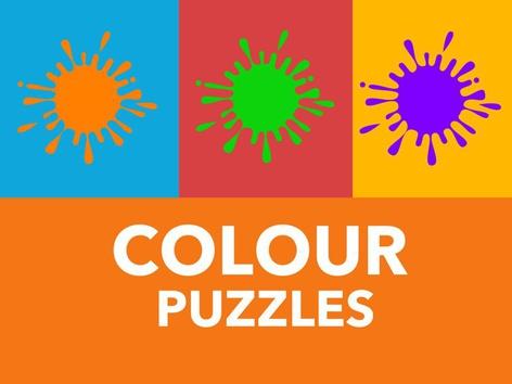 Colour Puzzles (EN UK) by Puzzle Land