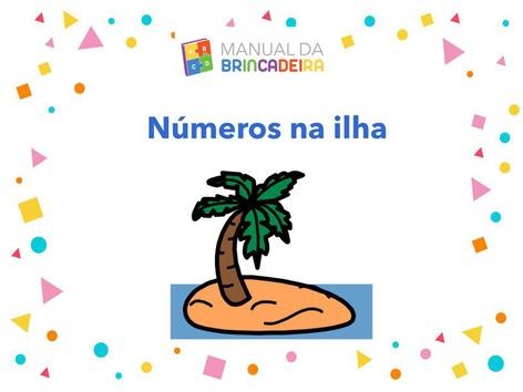 Números Na Iha - Manual Da Brincadeira  by Manual Da Brincadeira Miryam Pelosi