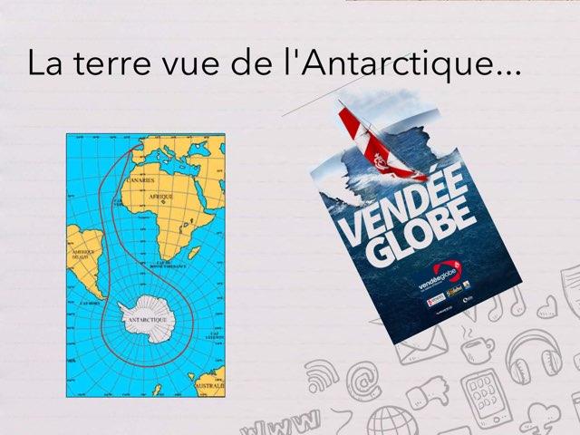 La terre vue de l'Antarctique by Cédric Houbrechts