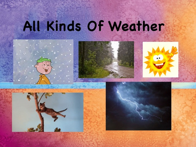 All Kinds Of Weather by Julia Hearn