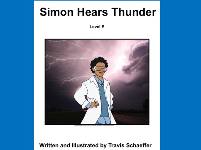 April Unique Unit Supplemental Reading: Simon Hears Thunder  by Tanya Folmsbee