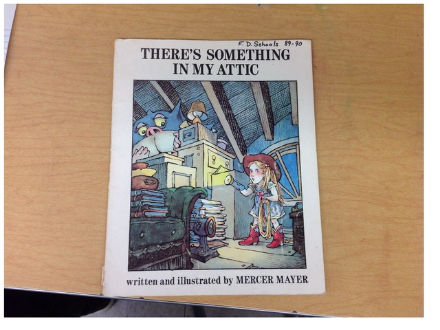 There's Something In My Attic by Evie Dencklau