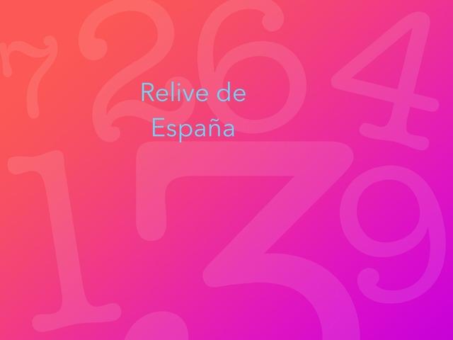 Relieve de España by Mario Cerezo Pérez