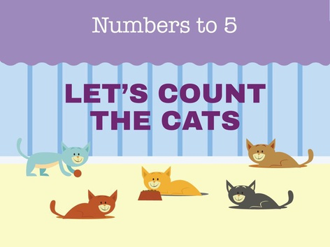 Count the Cats (EN UK) by Miss Humblebee