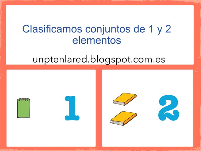 Conjuntos De 1 Y 2 Elementos. by Jose Sanchez Ureña