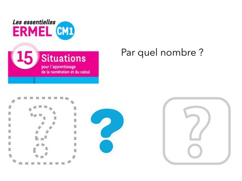 Approche De Quotients - ERMEL CM1 P5 by Fabien EMPRIN