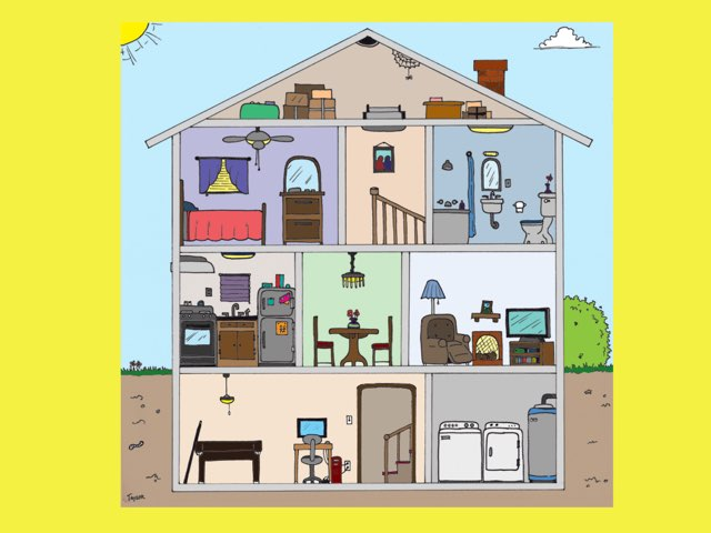 Français 7 Unité 4 - La Maison by Gretchen Mancuso