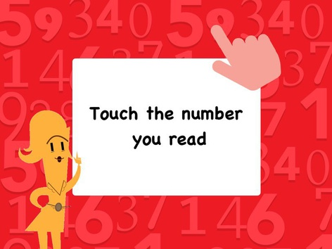 Touch The Number You Read by Andrea N. Lebron